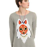 Her Universe Princess Mononoke Mask Girls Sweater