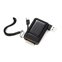 Samsonite Luggage Mini Solar Charger, Silver, Travel Size
