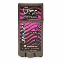 GEODEO Natural Deodorant with Detox Complex, Invisible Solid, Island