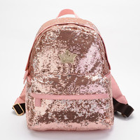 Unique Nice pink Shiny Backpack