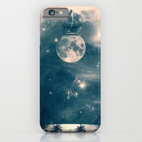 One Day I Fell from My Moon Cottage... iPhone & iPod Case by Paula Belle Flores