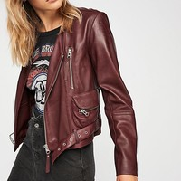 Victory Leather Moto Jacket