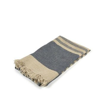 Belgian Towel Fouta | Sea Stripe