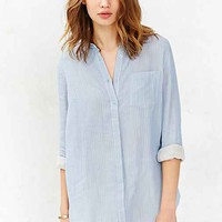 BDG Double Cloth Button-Down Shirt-