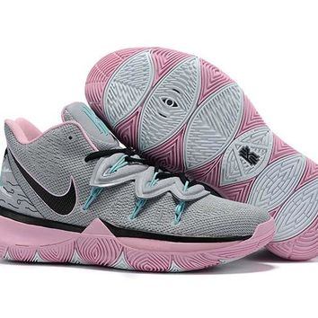 Nike Kyrie 5 - Gray/Pink