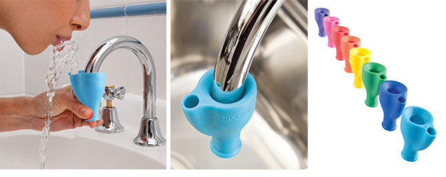 The Spoon Sisters Tapi - Faucet Squeeze Drink Fountain - Set of 2