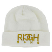 Rich Gang Men's Knit Beanie Skull Cap Hat Birdman Drake