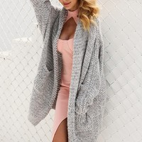 Easy Peasy Cardigan Sweater.