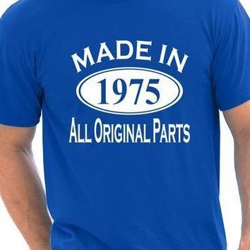 Made in 1975 All Original Parts T-Shirt - Men's Tops