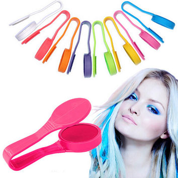 Coloured Hair Dye Powder Disposable Temporary Red Color Chalks For The Hair 8 Color
