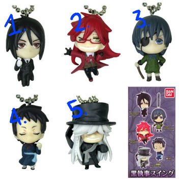 Decoden Custom Kuroshitsuji/Black Butler Phone Case MADE TO ORDER