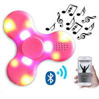 Bluetooth Speaker LED Fidget Spinner Toy
