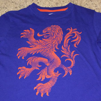 Sale!! Vintage Nike NETHERLAND Soccer T shirt HOLLAND Football Jersey