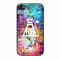 Fall Out Boy Lyric Collage iPhone 4s Case