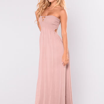 Life's A Beach Maxi Dress - Blush
