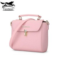 New Women Bag Female Luxury Pu Leather Small Bucket Handbags Solid Soft Evening Clutch Purse Shoulder Bags Blue Pink Hasp Zipper