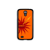 "Game of Thrones - House Martell ""Unbowed Unbent Unbroken"" Phone Case for Galaxy S3/S4/S5 and iPhone 4/4S/5/5S/5C/6/6+ in Hard Plastic/Rubber"