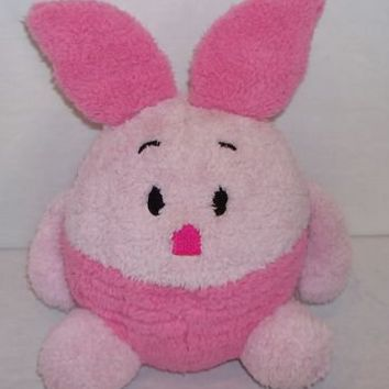 Disneyland Walt Disney World Plush Round Ball Pink Piglet ~ Winnie The Pooh