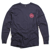 Vintage Dot Longsleeve T-Shirt Midnight