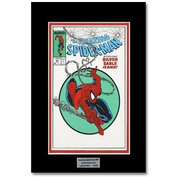 The Amazing Spider Man #301 - Limited Edition Lithocel by Todd MacFarlane from the Marvel Collector Covers Series