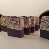 Lavender Soap|Artisan Soap|Lavender Oil|Lavender|Bar of Soap|Goats Milk|Handmade Soap|Spa|Gift for Her|Mother's Day Gift|Aromatherapy