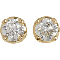 HOORSENBUHS for Forevermark Diamond & Gold Stud Earrings at Barneys.com