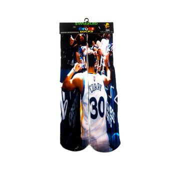 88a53 31994 sky hi dunk plain white new lower prices  8f447 94737 Golden  State Warriors Stephen Curry Jersey Basketball Socks in stock ... e66af18d5e