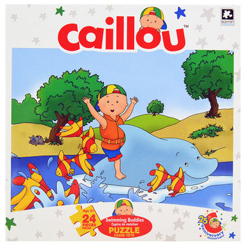 Caillou Jigsaw Puzzle [24 Pieces - Swimming Buddies]