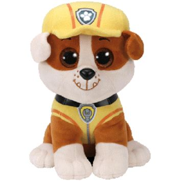 Ty Paw Patrol Beanie Boo Rubble - Medium