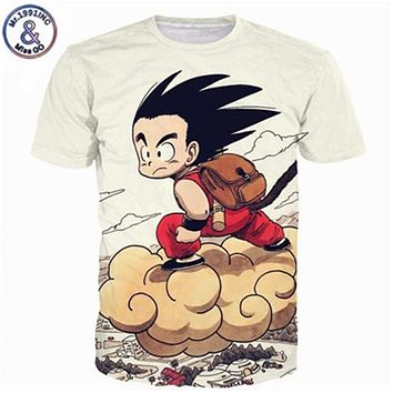 39c0ced56 Dragon Ball DBZ Bulma Super Saiyan Vegeta T-shirt 3D Men Women A