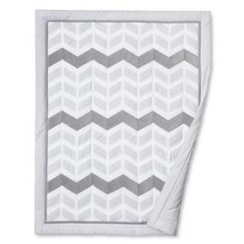 Circo™ 4pc Crib Bedding Set - Grey Chevron : Target