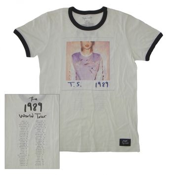1989™ Album Cover Tour Ringer Tee