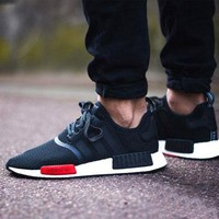 Best Online Sale Footlocker x Adidas NMD R1 AQ4498 Boost Sport Running Shoes Classic Casual Shoes Sneakers