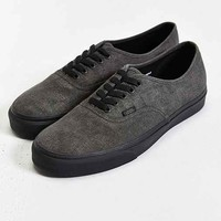 Vans Authentic Washed Men's Sneaker- Washed Black