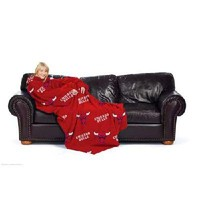 Chicago Bulls NBA Adult Comfy Fleece Throw