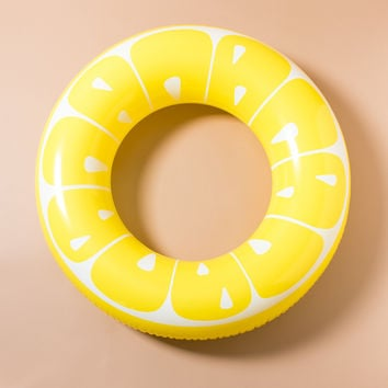 Lemon Pool Float