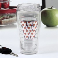 Clemson Tigers Letter 16oz. Tumbler with Lid
