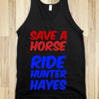 SAVE A HORSE, RIDE HUNTER HAYES - countryfab