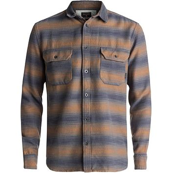 Quiksilver Dusky Town Flannel Long Sleeve Over Shirt