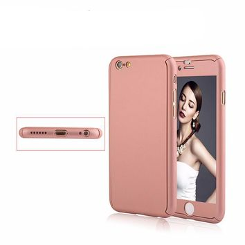 Pink 360 Coverage  Case-iPhone 6/6S