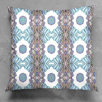 Ice Flower Accent Pillow