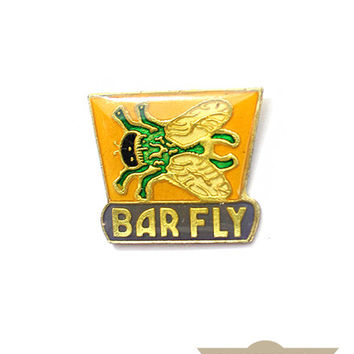 Barfly Vintage Pin