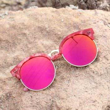 Mirrored Sunglasses Vintage Style