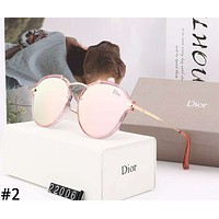 Dior 2019 new personality irregular women's polarized sunglasses #2