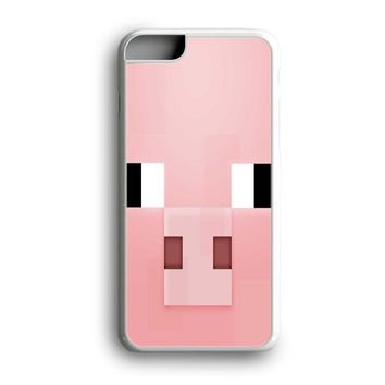 Awesome Black Friday Offer Minecraft Pig Pink Head iPhone Case | Samsung Case