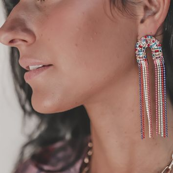 Life Of The Party Tassel Earrings