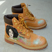Black Lives Matters - Custom Hand Painted Timberland Boots