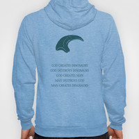 Jurassic Park Hoody by OurbrokenHouse