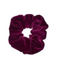 Velvet Scrunchie - Burgundy
