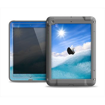 The Sunny Day Waves Apple iPad Air LifeProof Fre Case Skin Set